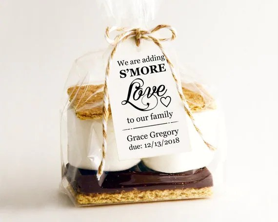 Download We Are Adding S'MORE Love To Our Family Tag Template DIY