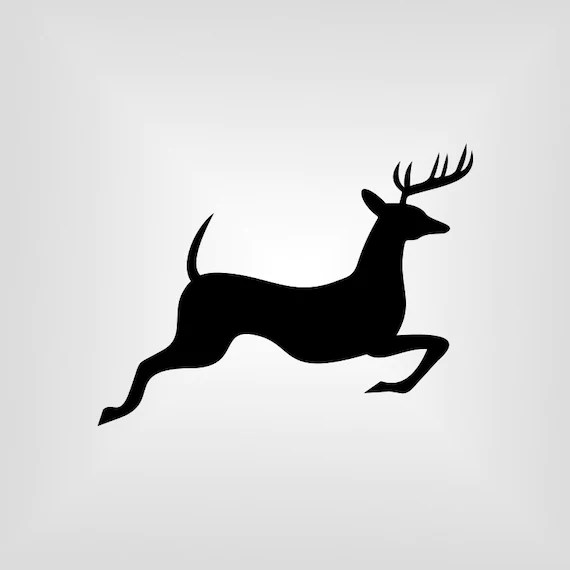Download Running Deer Svg, buck, Cutout, Vector art, Cricut ...