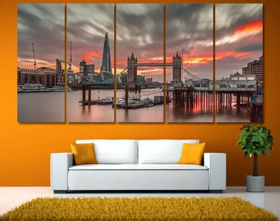 London Tower Bridge Art by GiftVilage