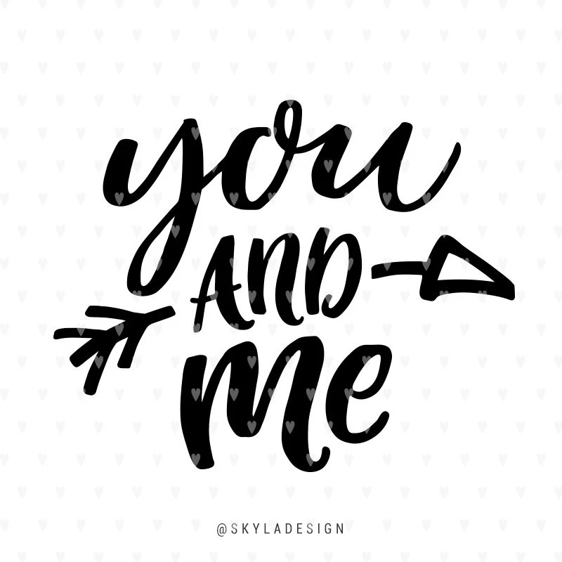 Download Valentines svg file, You and Me svg, Happy Valentines Day ...