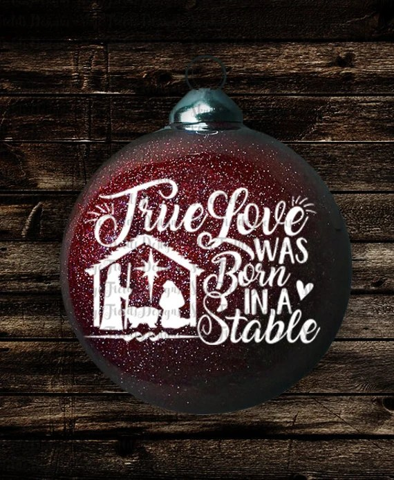 Download True Love was born in a Stable SVG, JPG, PNG, Studio.3 ...