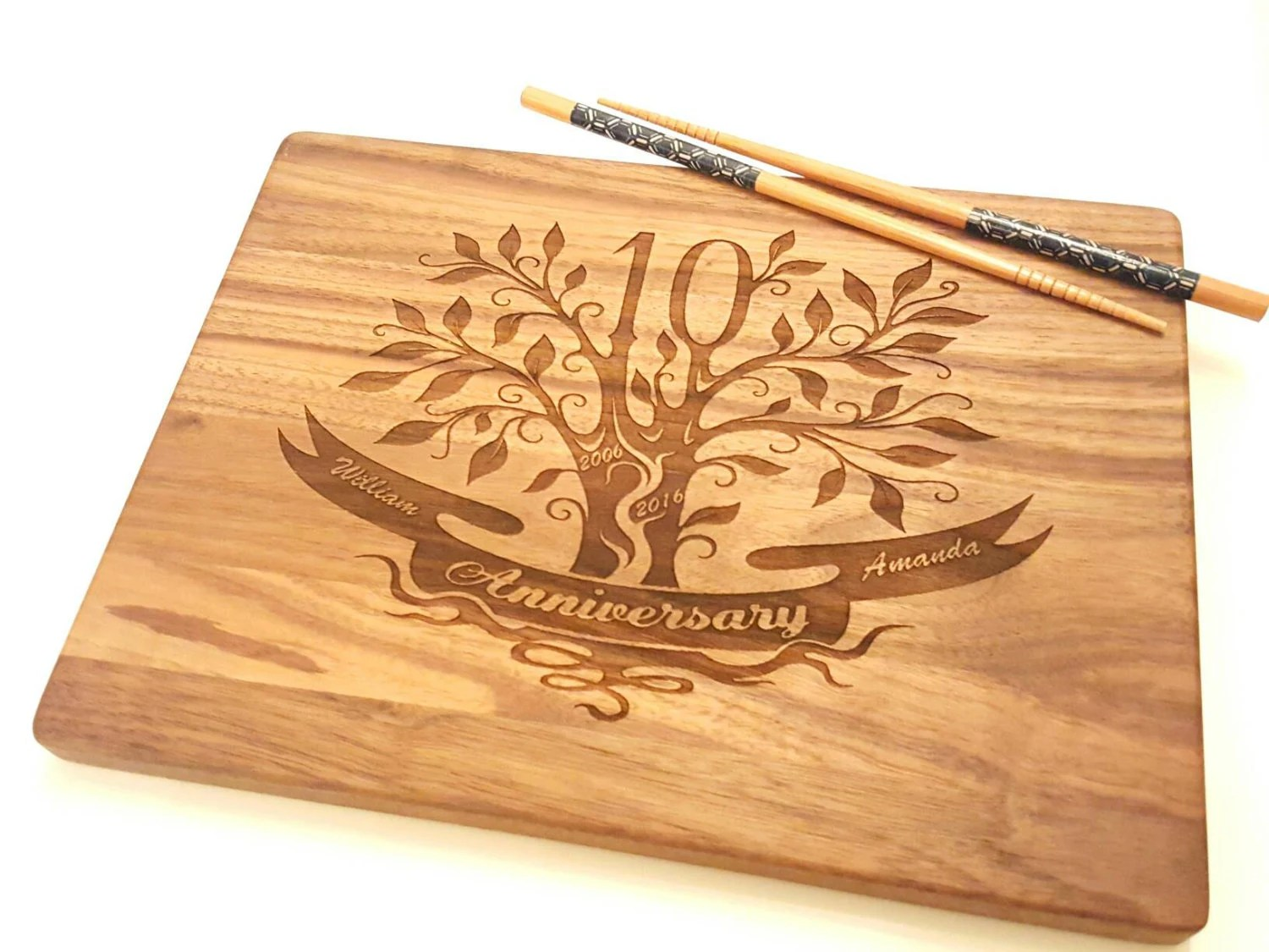 10th Anniversary Gift 10th Wedding Anniversary Gift For