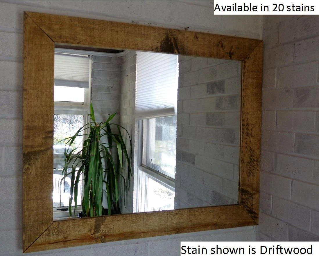 Shiplap Reclaimed Wood Mirror By Lane Of Lenore In By