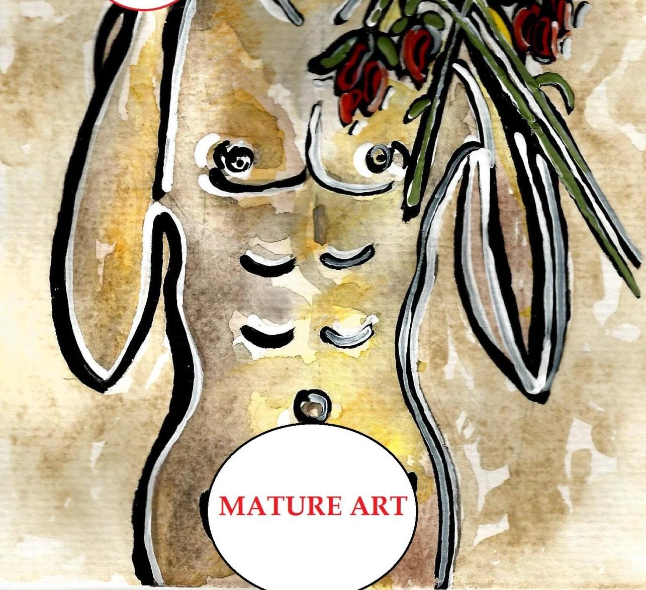 Narcissist Narcissism Art Metaphorical Painting Narcissistic