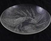 Duralex glass dish signed...