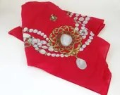Lovely Vintage Red Pearl ...