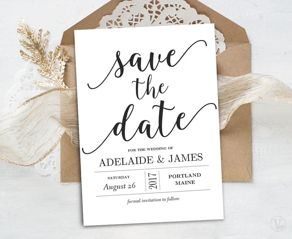 Save Date Cards Free