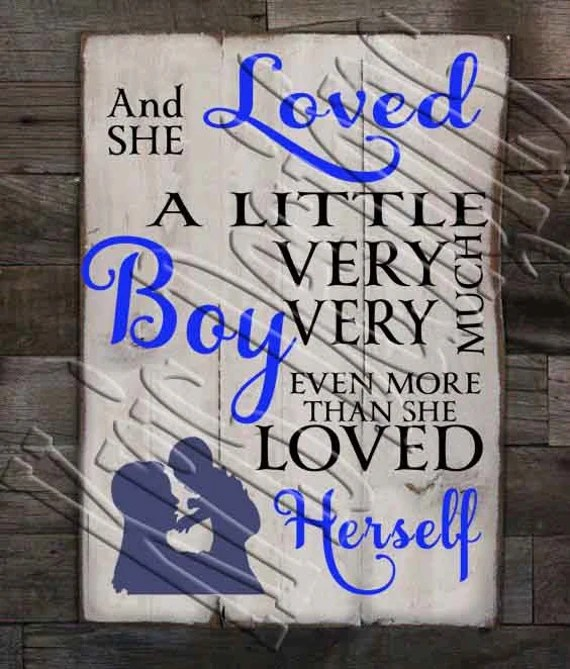 Download And She Loved a Little Boy SVG PNG JPG