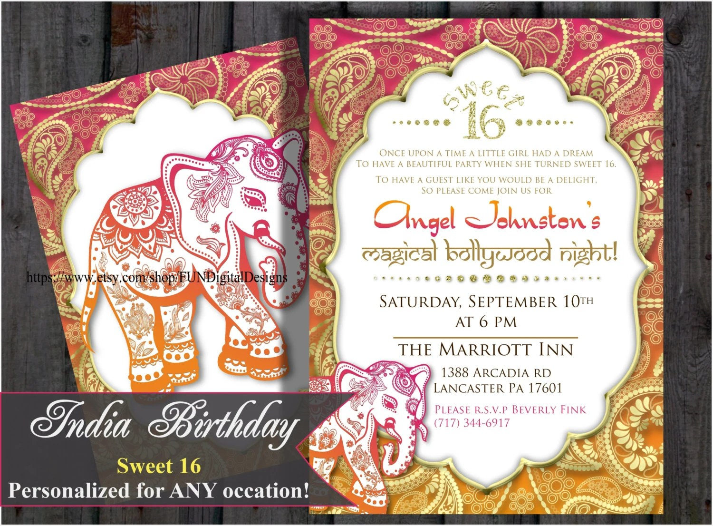 Birthday Invitations Hindi