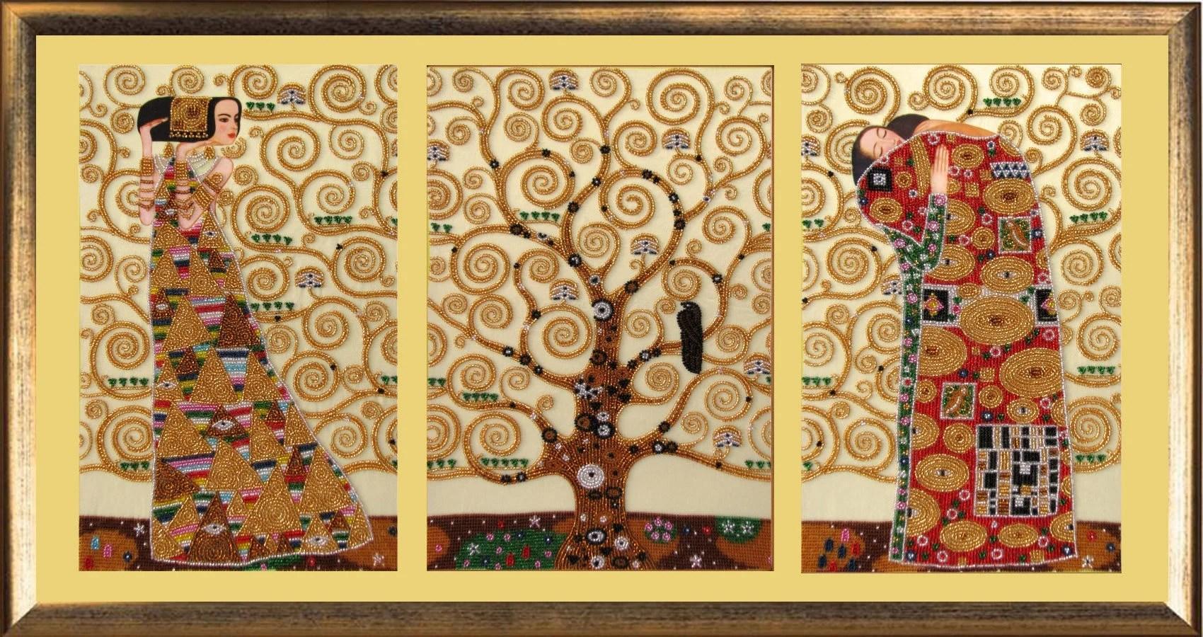 Gustav Klimt Tree Etsy