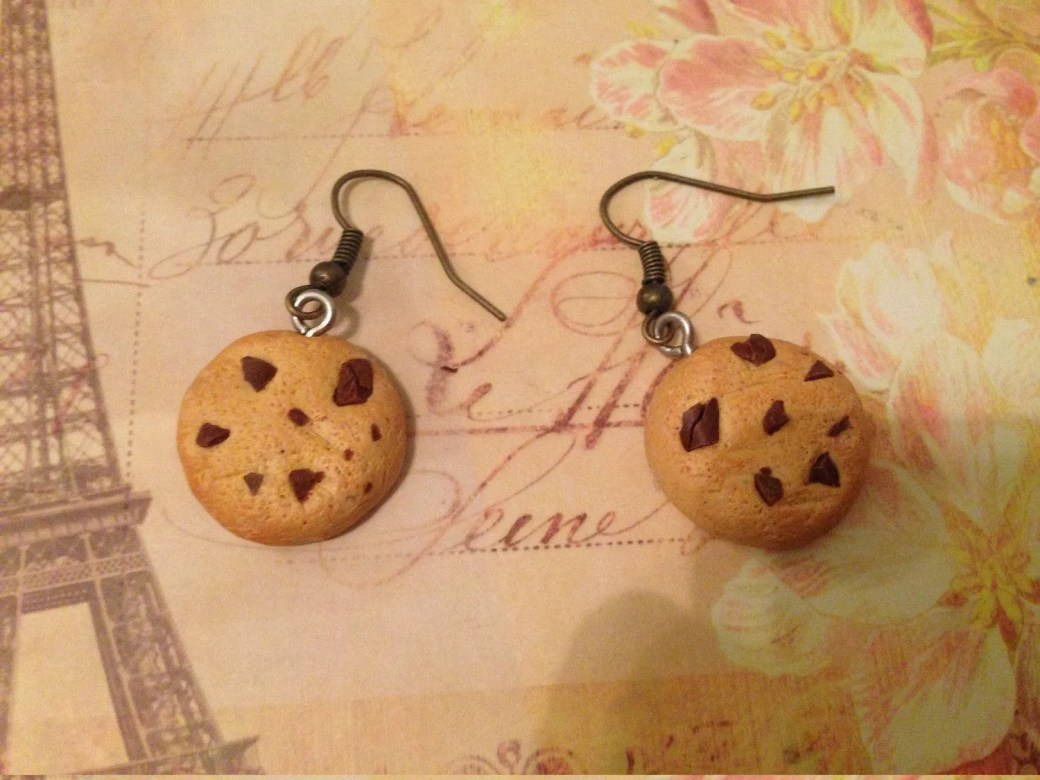 Cookie Earrings from Poly...