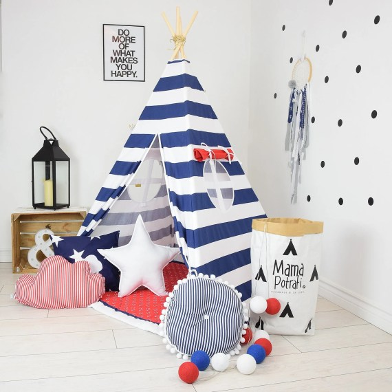 Kids teepee || Playroom ideas || kids reading nooks || imaginary play ideas ||