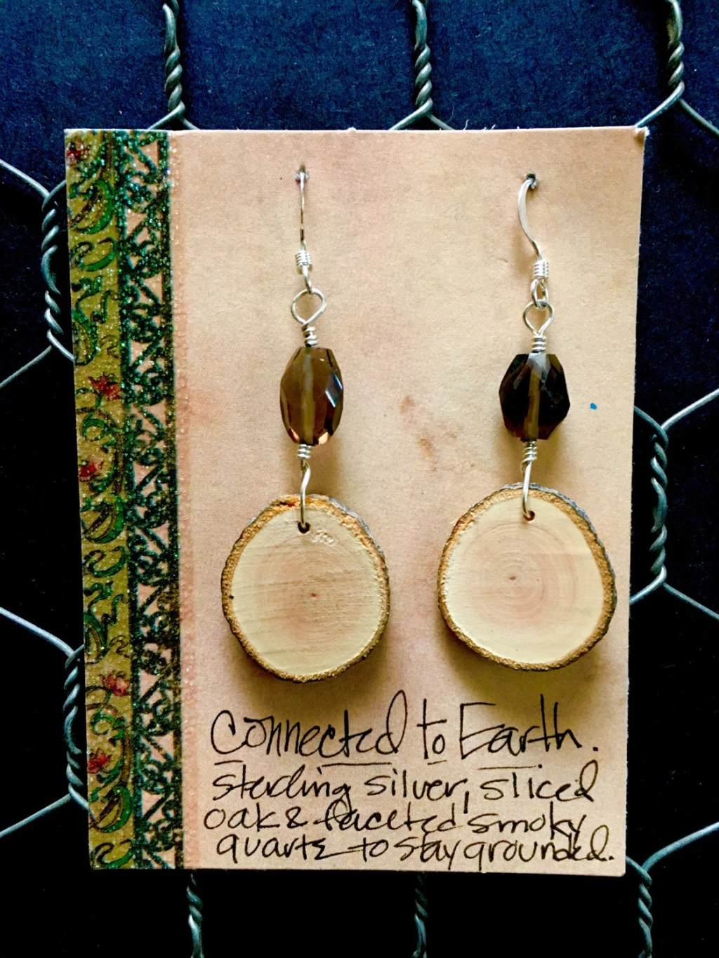 Conected to Earth earrings