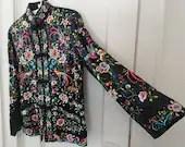 Vintage Silk Jacket Chine...