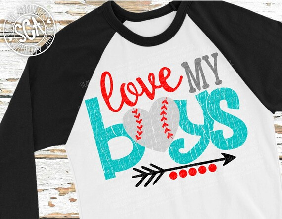 Download Baseball SVG Love my Boys svg Softball SVG softball mom