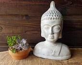 Large Buddha Head Statue ...