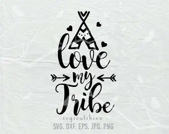 Download Love my tribe   Etsy