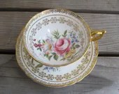 Vintage Paragon teacup an...