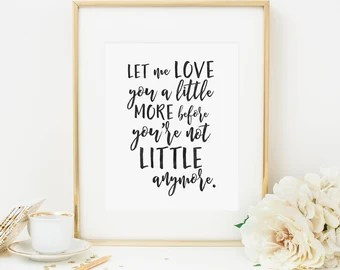 Download Nursery quote   Etsy
