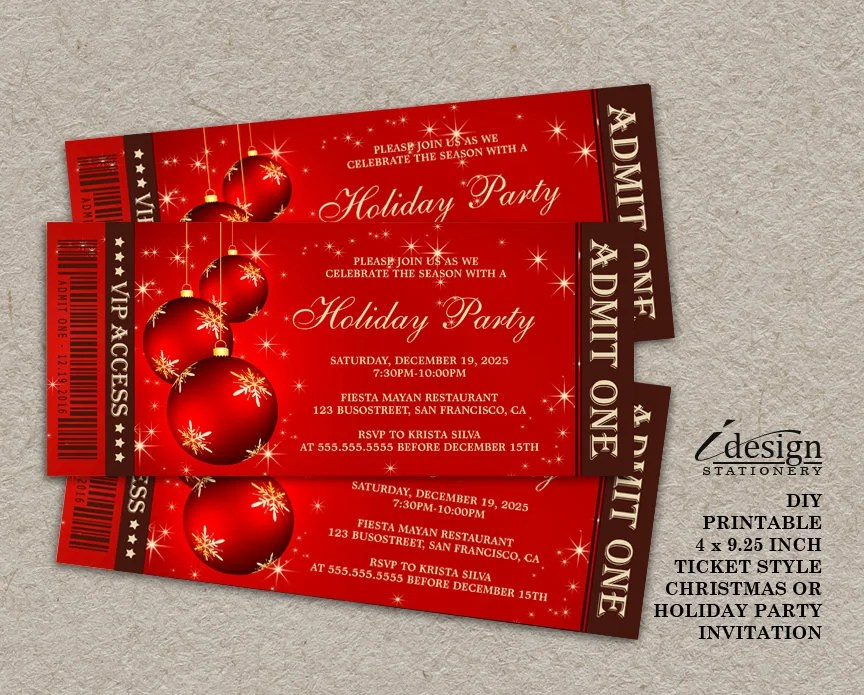 Create Your Own Printable Invitations