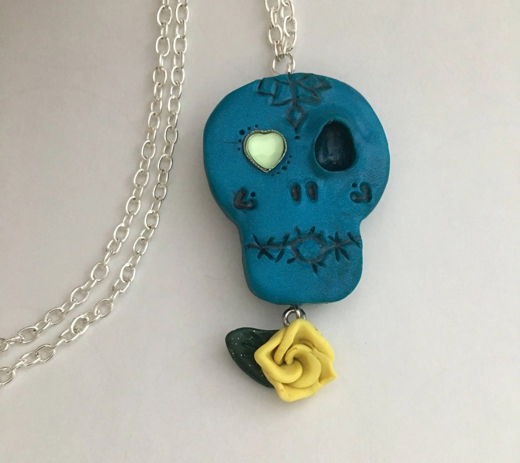 Sugar Skull Inspired Neck...