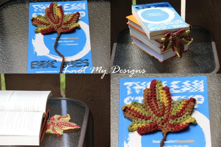 Crochet Maple Leaf Bookma...