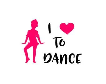 Download I love to dance | Etsy