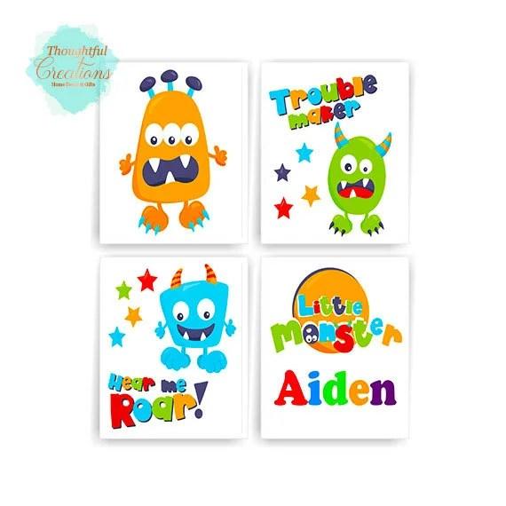 Monster Prints, Monster D...