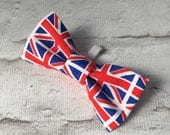 Medium Union Jack Dog Bow...