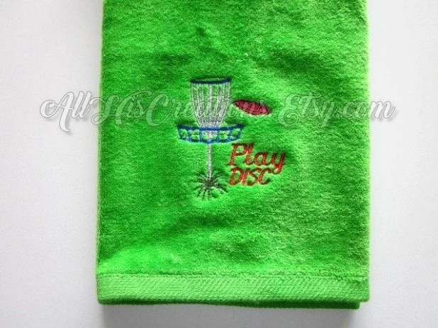 Personalized+Golf+Towels