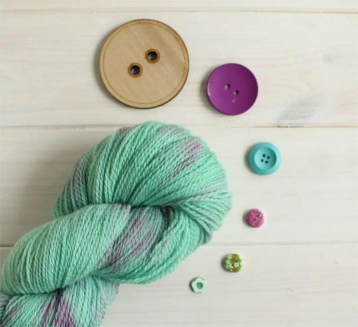 Hand dyed organic yarn - ...