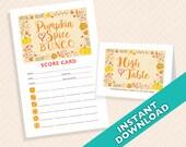 Pumpkin Spice Bunco - Pri...