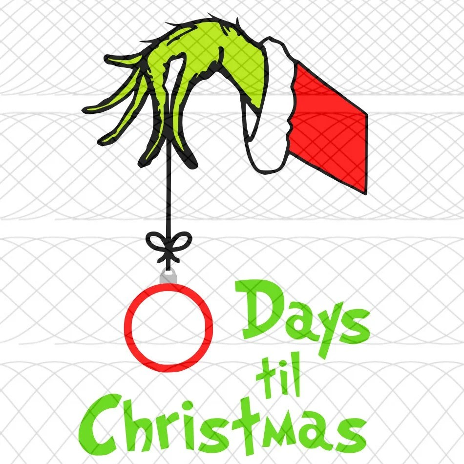 Svg Christmas Countdown