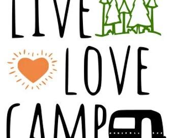 Download Camping life svg | Etsy