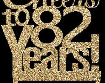 82nd Birthday Etsy