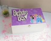 Girls Keepsake Box, Disne...