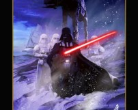 """16""""x20"""" Vader Arrives On Hoth"""