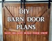 Barn Door Plans - Step By...