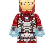 IRON MAN MK47 (Spider-Man Homecoming) Custom Minifigure 100% Lego Compatible! Marvel Comics Character
