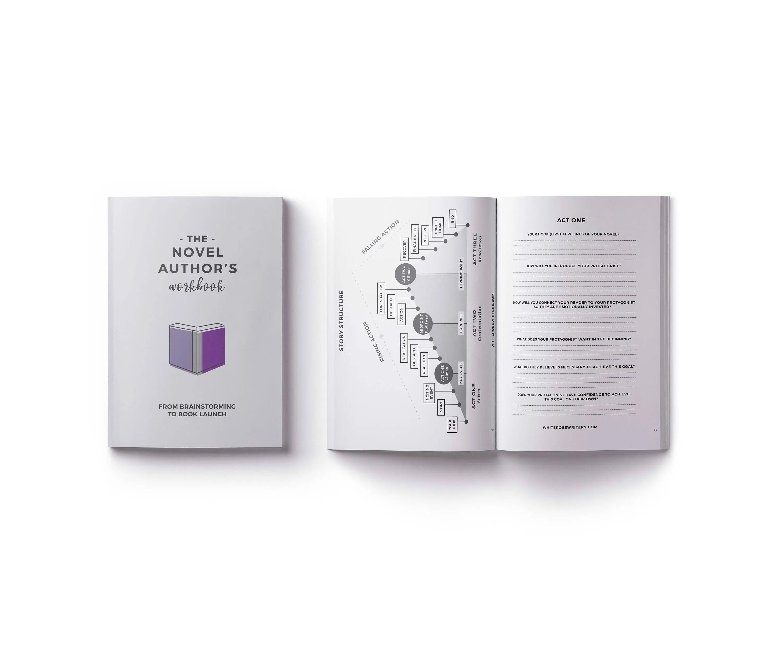 The Novel Author S Workbook Book Planner Worksheets