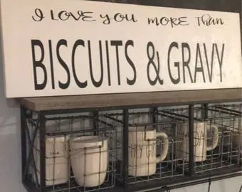 Download Biscuits and gravy | Etsy