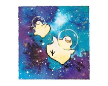 Birdblobs in Space (3 for 1 sale!)