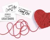 Custom Fabric Labels, Bla...