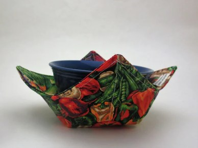 Vegetable Print Microwaveable Soup Bowl Cozy