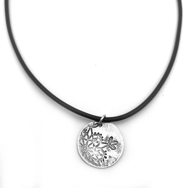 Metal Clay Jewelry with S...