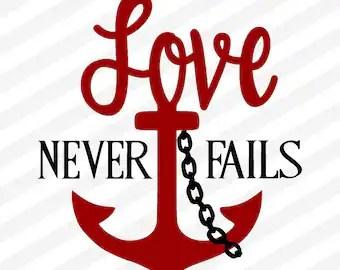 Download Love never fails svg | Etsy