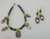 Blue and Yellow Owl Brace...