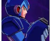 """Megaman X - X 11""""x17..."""