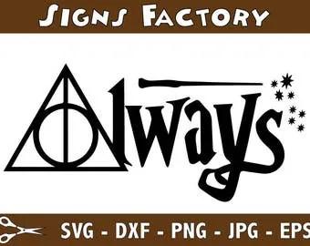 Download Harry potter svg | Etsy