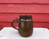 Red Stoneware 16 oz. Stei...